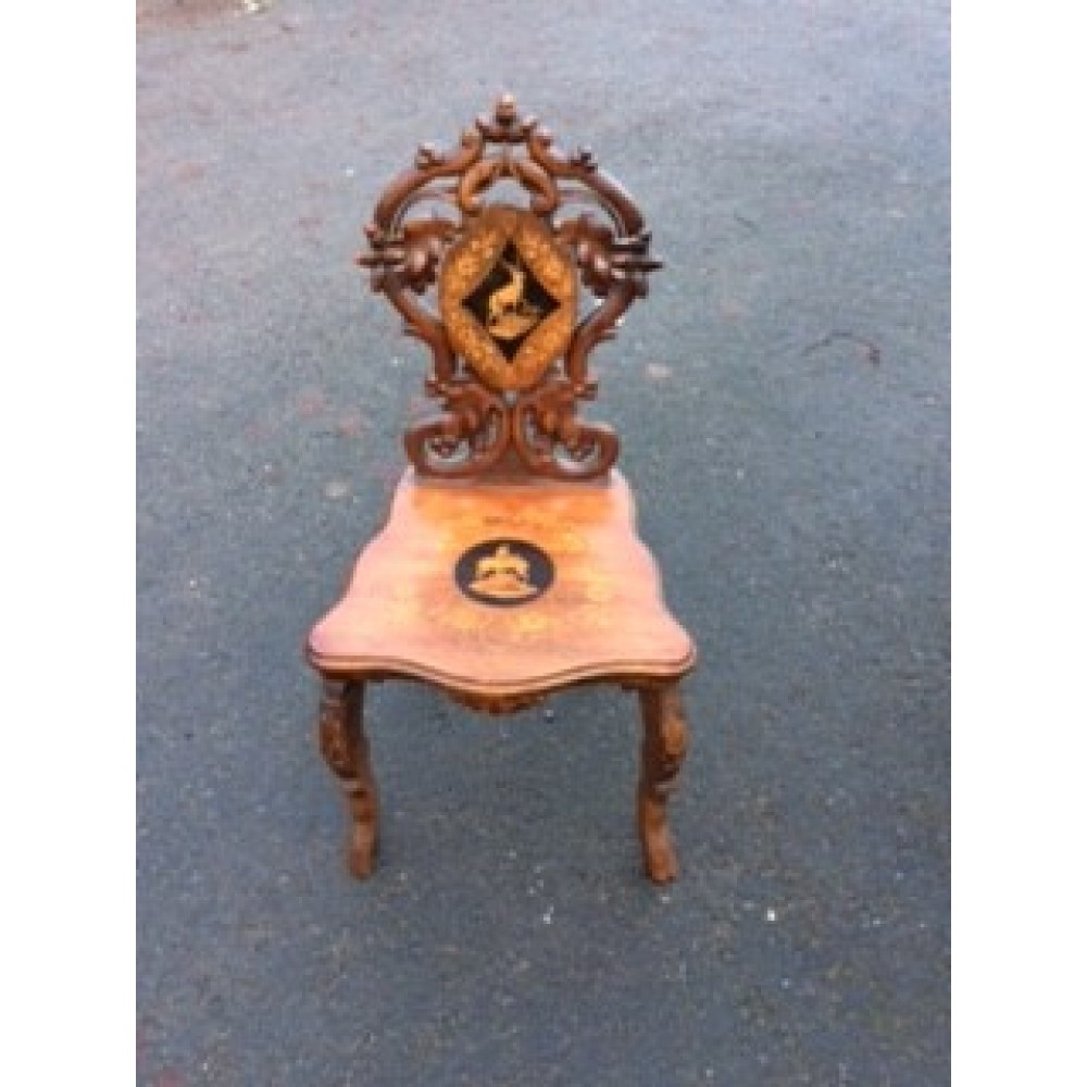Black Forest Side Chair