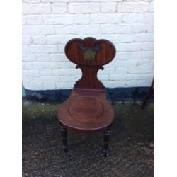 Victorian Mahogany Side Chair